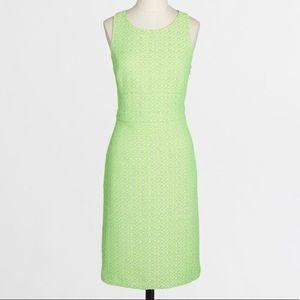 J.Crew Factory Neon Tweed Dress